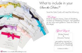 What Are Save The Date Cards Wording For Save The Dates What To Include In Your Save