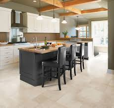 Flooring Choices For Kitchens Designing Small Kitchens With Breakfast Bars