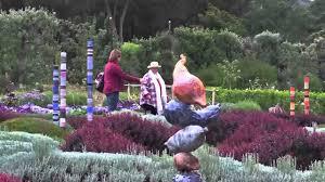 filoli totems in the garden