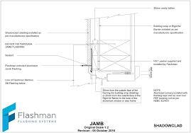 flashman flashings archives flashclad garage door head detail fluidelectric weatherboard
