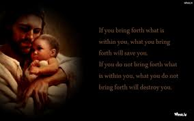 Jesus Christ Get A Baby With Quotes Hd Wallpaper