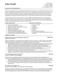 Payroll Supervisor Resume Sample & Template