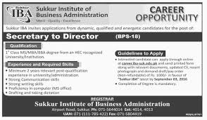 sukkur iba jobs apply online in sukkur institute of business sukkur iba jobs apply online in sukkur institute of business administration 27th 2016