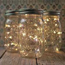 Lighting in a jar Outdoor Lights For All Occasions Mason Jar Fairy Lights Pint Small Mouth Warm White Set Of