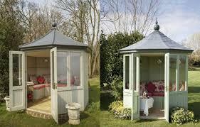 octagonal gazebo style garden rooms
