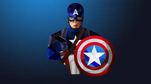 creative graphics captain america wallpaper