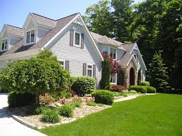 Home Landscape Design Home Landscape Design Fascinating Home With - Home landscape design