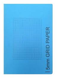 Artway A4 5mm Grid Graph Paper Book 56 Sides Wholesale