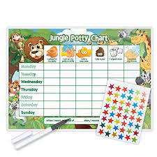 Free Potty Training Reward Chart And Stickers Funky Monkey House Jungle Potty Training Reward Chart Including Free Star Stickers And Pen