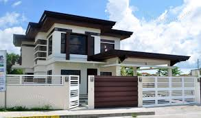 modern small two story house plans awesome 2 y modern small houses with gate philippines of