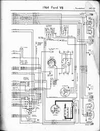 57 65 ford wiring diagrams 1965 6 v8 falcon left