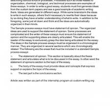 writing essay process analysis sample writing examples sample     process essay examples writing essay process analysis sample writing examples sample