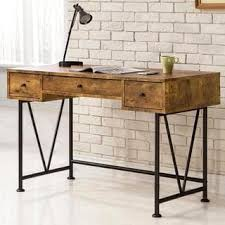 industrial home office desk. Mid Century Industrial Design Home Office Computer/ Writing Desk With Drawers C