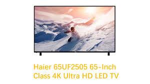 haier 65 4k ultra hd tv. haier 65uf2505 65\ 65 4k ultra hd tv 0