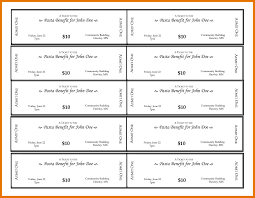Event Ticket Template Free Download Word Templates For Tickets Ideas