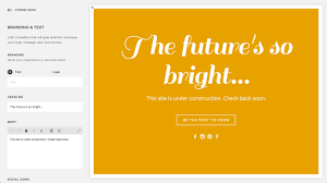 Creating An Under Construction Page Squarespace Help