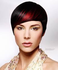 Kort Haar Rood Gekleurd Met Chi Ionic Permanent Shine Hair Color