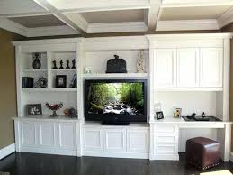 desk and tv storage pterest livg wall unit ideas design custom