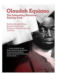 olaudah equiano s interesting narrative activity pack  olaudah equiano s interesting narrative activity pack