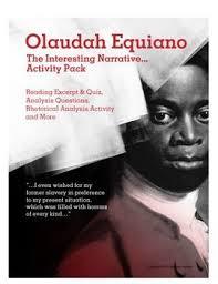 olaudah equiano s interesting narrative activity pack  olaudah equiano s interesting narrative activity pack