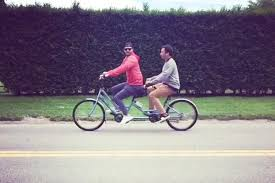 justin timberlake and jimmy fallon ride a tandem bike people com