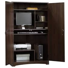 home office armoire. Interesting Office Amazing Home Office Armoire Workstation Computer Also With  Desk