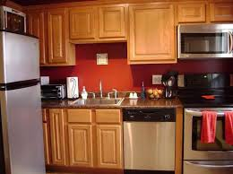 Red+Kitchen+Walls | What Color to Paint Kitchen Walls with red color | Home  remodel | Pinterest | Red kitchen, Kitchens and Walls