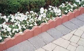 concrete edger blocks. 12\u2033 straight picket edge™ concrete edger blocks i