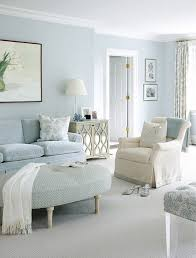 Light blue, silver, cream color scheme for bedroom