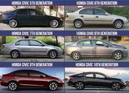Honda Civic Design Evolution Honda Civic Evolution In Pakistan Pakwheels Blog