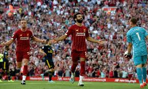 Read about leicester v liverpool in the premier league 2019/20 season, including lineups, stats and live blogs, on the official website of the premier league. Match Report Salah Scores Twice As Liverpool Surge Past Arsenal Liverpool Fc