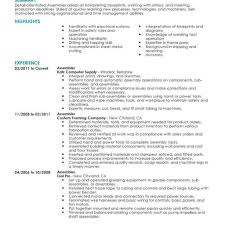 assembly line resume job description 10 assembler job description for resume resume assembly line