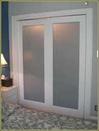 frosted glass closet doors sliding