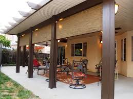 brown aluminum patio covers. Aluminum Patio Covers Bay Area With Swivel Chairs And Brown Carpet Installed A