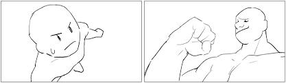 構図キャラクターに迫力を出す見せ方のコツ イラストマンガ描き方ナビ