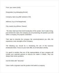email introduction sample professional business email self introduction sample simple yet