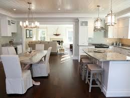 Coastal Kitchen Ideas Built In Stove Sink Oven White Modern Gloss Coastal Cottage Kitchen Ideas