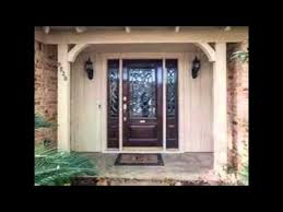 front door with one sidelightentry doors with sidelights  YouTube