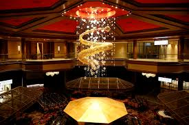 the interior of lucky dragon which shut down and restaurant operations in early