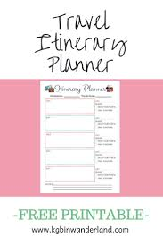 Free Trip Itinerary Planner 008 Template Ideas Free Travel Stirring Itinerary Trip