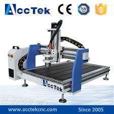 acctek best hot desktop cnc router machine 6090 9060 wood chair cnc engraving machine