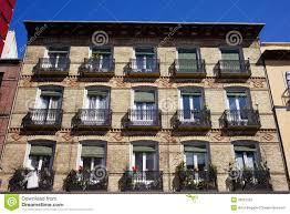 Brick Apartment Building Illustration And Modern Apartment - Modern apartment building facade