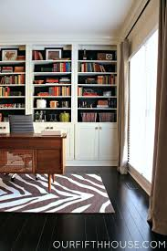 home office bookshelf. Our Fifth House Home Office With New Built In Bookcases Desk And Shelves Bookshelf A