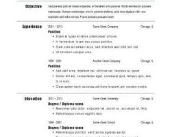 breakupus ravishing resume samples types of resume formats breakupus entrancing basic resume templates hloomcom easy on the eye big and bold and outstanding