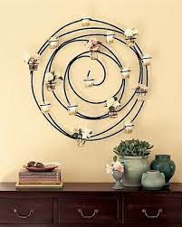 pottery barn hanging spiral iron votive