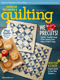 American Patchwork & Quilting August 2017 | AllPeopleQuilt.com & August 2017. The August 2017 issue of American Patchwork & Quilting ... Adamdwight.com