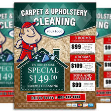 carpet cleaning flyer carpet cleaning flyer design 3 brads carpets