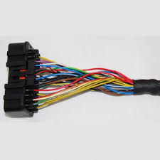 full generic wiring loom harness for emerald ecu 6 cylinder 36 way plug for k6 aftermarket standalone ecu engine management system on generic loom