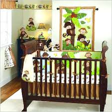 jungle crib bedding baby boy monkey crib bedding sets home design