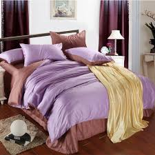 aliexpress com luxury purple lilac brown sheet bedding set king size queen duvet cover quilt double bed in a bag sheets bedspread linen 4pcs from
